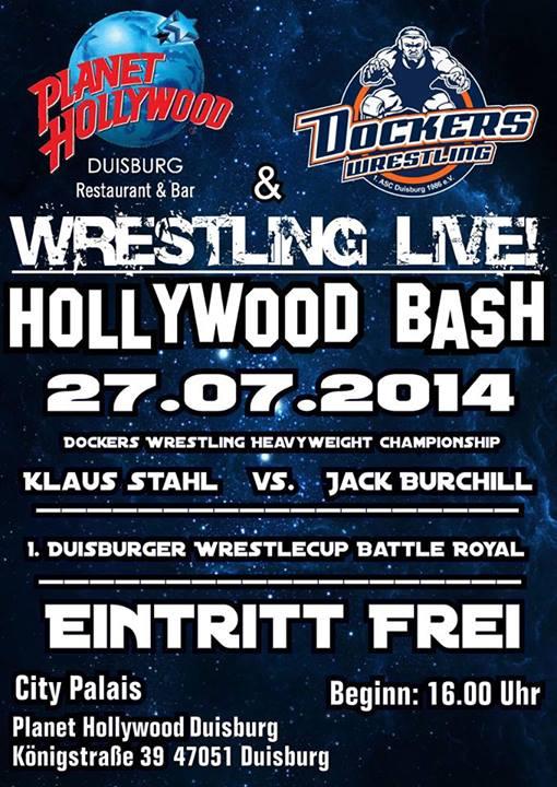 Live Wrestling im Planet Hollywood Duisburg